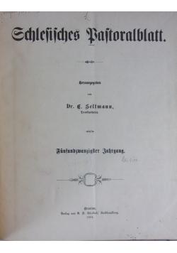 Schlesisches Pastoralblatt, 1904 r.