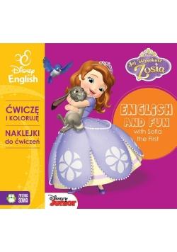 Ćwiczę i koloruję z Zosią - Disney English