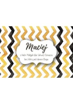 Magnes Imiona - Maciej