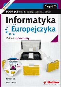 Informatyka Europejczyka LO 1-3 cz.2 ZR Helion