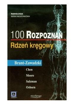 100 rozpoznań Rdzeń kręgowy