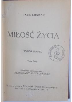 Miłość życia, tom I, 1925 r.