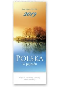 Kalendarz 2019 Trójdzielny wiel. Polska w pejzażu