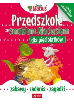 Przedszkole ze Smokiem Maciusiem dla pięciolatków