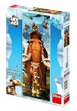 Puzzle 150 Panoramic Epoka Lodowcowa DINO