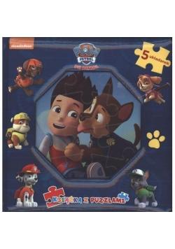 Psi Patrol. Książka z puzzlami