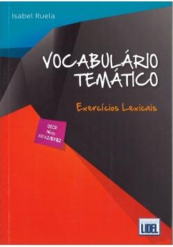 Vocabulario tematico exercicios lexicais książka z kluczem