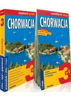 Explore!guide Chorwacja przewodnik 3w1 Wyd.II