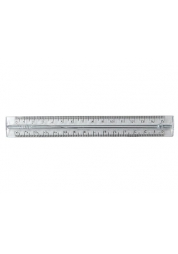 Linijka plastikowa 15cm (50szt) MILAN