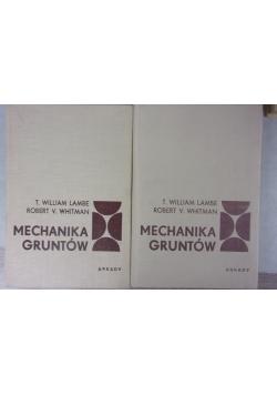 Mechanika Gruntów ,Tom I,II