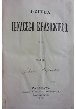 Dzieła Ignacego Krasickiego, tom II, 1878 r.
