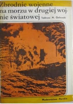 Zbrodnie wojenne na morzu w drugiej wojnie światowej