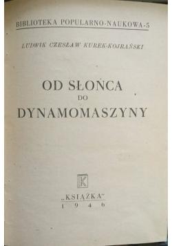 Od słońca do dynamomaszyny, 1946 r.