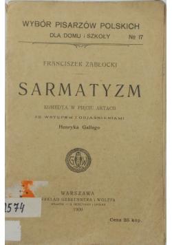 Sarmatyzm 1909 r.