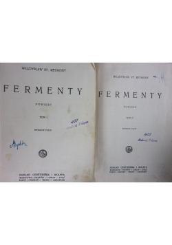 Fermenty tom I,II, 1928 r.