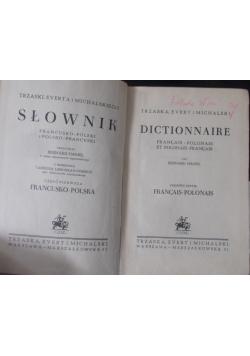 Słownik Francusku-Polski, 1949r