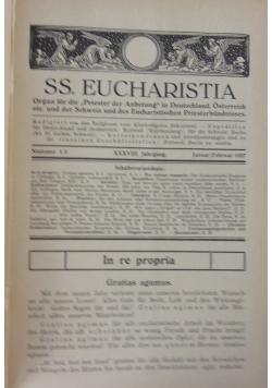 SS. Eucharistia, ok 1928 r.
