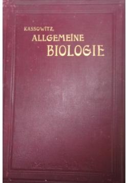 Biologie, 1899r.