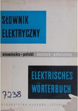 Słownik elektryczny niemiecko-polski