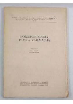 Korespondencja Pawła Stalmacha
