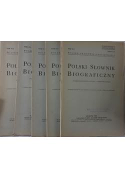 Polski słownik biograficzny I-V, 1939r.