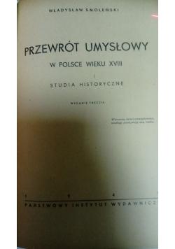 Przewrót umysłowy w Polsce wieku XVIII, 1949 r.