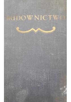 Budownictwo , 1929 r.