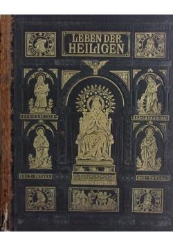 Leben der Heiligen ,1881r.