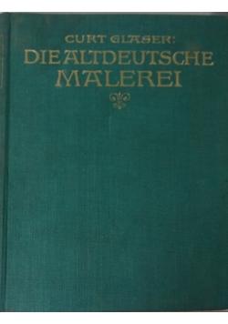 Die altddeutsche malerei, 1924 r.