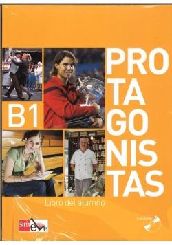 Protagonistas B1 Podręcznik + 2 CD