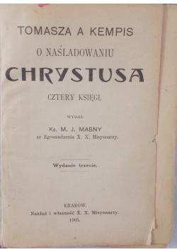 O naśladowaniu Chrystusa, 1905 r.
