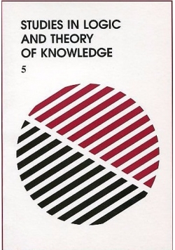 Studies in logic and theory of knowledge