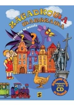 Edukacja na wesoło + CD Zagadkowa Warszawa