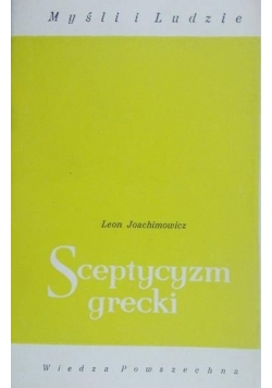 Sceptycyzm grecki