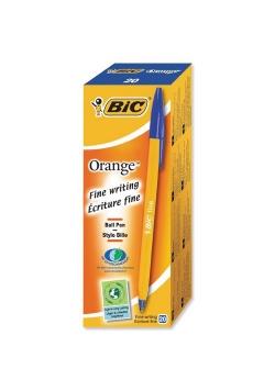 Długopis Orange Original niebieski (20szt) BIC
