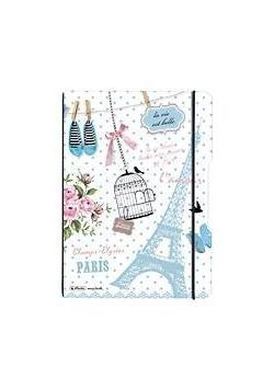 Notatnik A4/2x40K kratka+linia My.BookF Paris