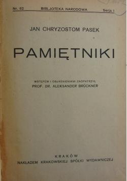 Pamiętniki, 1924r.