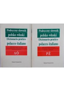 Podręczny słownik Polsko-Włoski. Tom I-II.