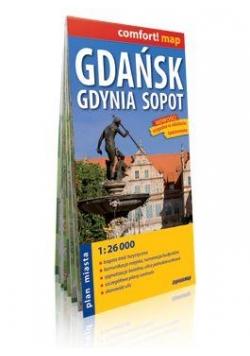 Comfort!map Gdańsk Gdynia Sopot plan miasta