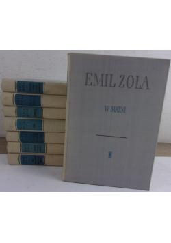 Emil Zola, zestaw 8 książek