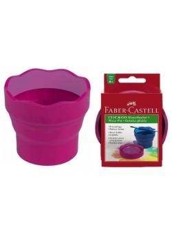 Pojemnik na wodę Click&Go różowy FABER CASTELL