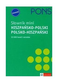 Słownik mini hiszpańsko-polski, polsko-hiszpański