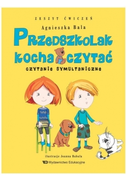 Przedszkolak kocha czytać. Czytanie symultaniczne