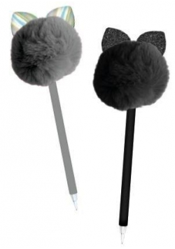 Długopis pompon z uszami
