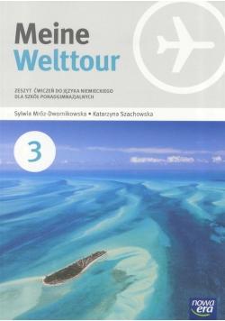 J. Niemiecki 3 Meine Welttour ćw NE