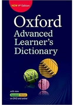 Oxford Advanced Learner's Dictionary 9E + DVD