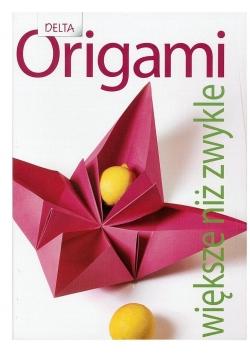 Origami większe niż zwykle