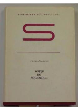 Wstęp do socjologii