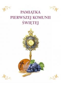 Album komunijny. Pamiątka I Komunii Świętej