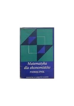 Matematyka dla ekonomistów. Podręcznik